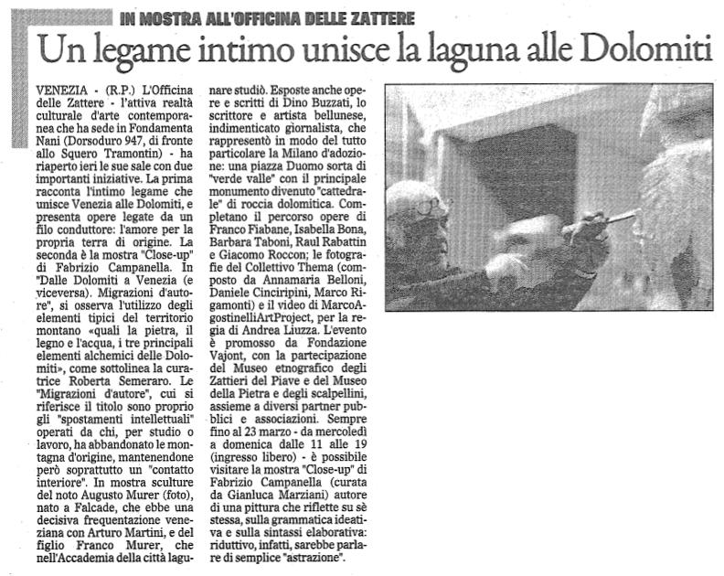 il Gazzettino - 21 febbraio 2014